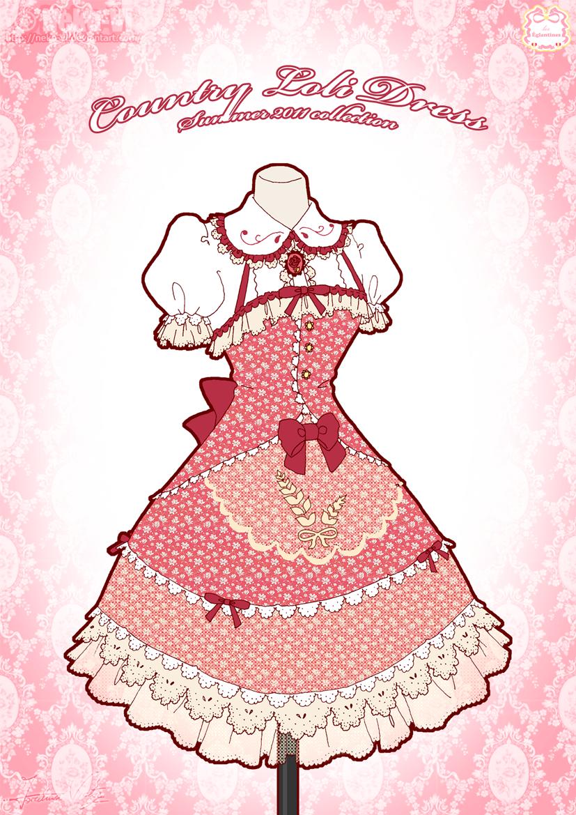 Country Loli Dress by Neko-Vi.deviantart.com on @deviantART   Disney ...