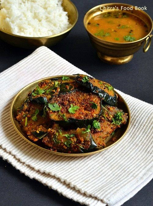 Big Brinjal Fry Recipe Eggplant Roast For Rice South Indian Kathirikai Masala Fry Recipe Indian Vegetable Curry Indian Food Recipes Vegetarian Brinjal Fry Recipe