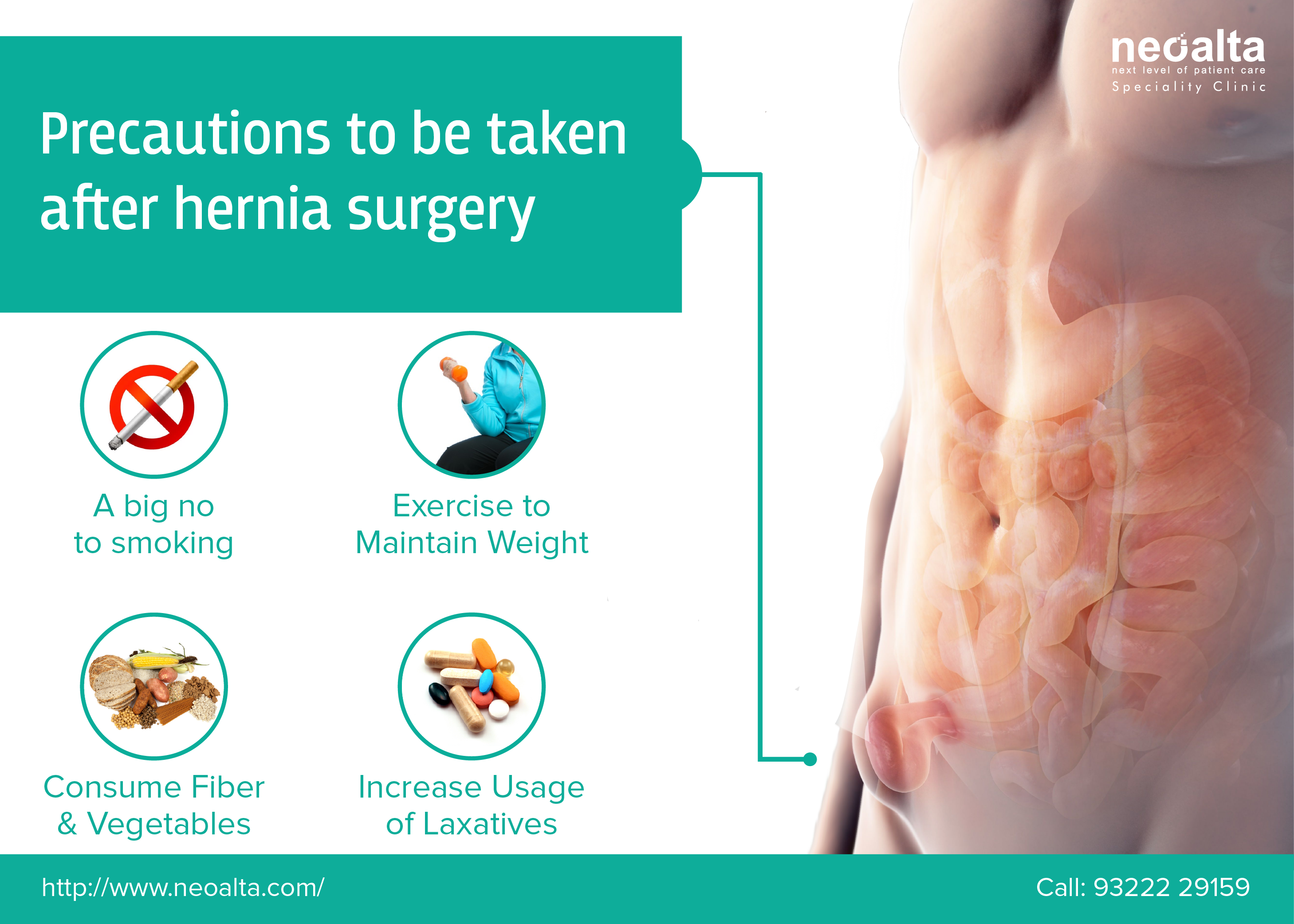 Have you been through a #Hernia #Surgery recently? Watch for these