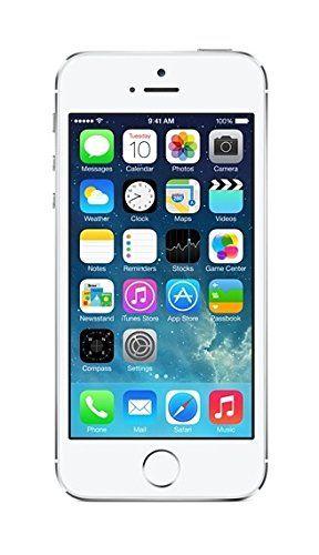Apple Iphone 5s Smartphone Libre Ios Pantalla 4 Camara 8 Mp 16 Gb Dual Core 1 3 Ghz 1 Gb Ram Plateado Smartfon Otpechatki Palcev Karta Pamyati