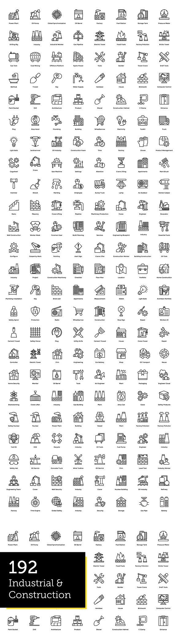 192 Industrial And Construction Icon Icon Png Icons Industrial
