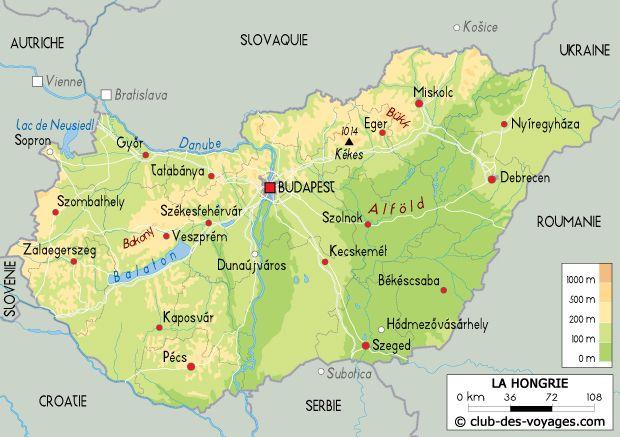Carte Du Monde Hongrie.Carte De La Hongrie Travel En 2019 Hongrie Hongrie