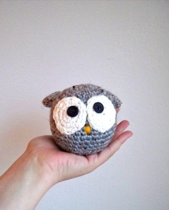 Crotchet owl so cute!!! | Amigurumi | Pinterest | Patrones de ...
