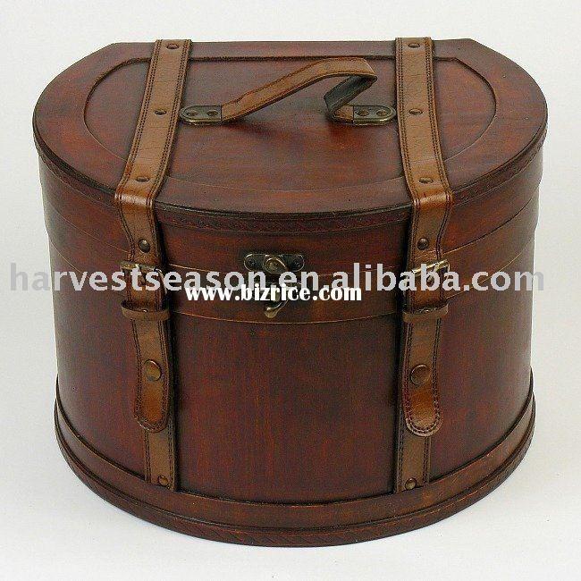 Antique Hat Boxes Antique Wooden Hat Box Luggage Pinterest Hat Boxes Vintage Hat Boxes Hat Box
