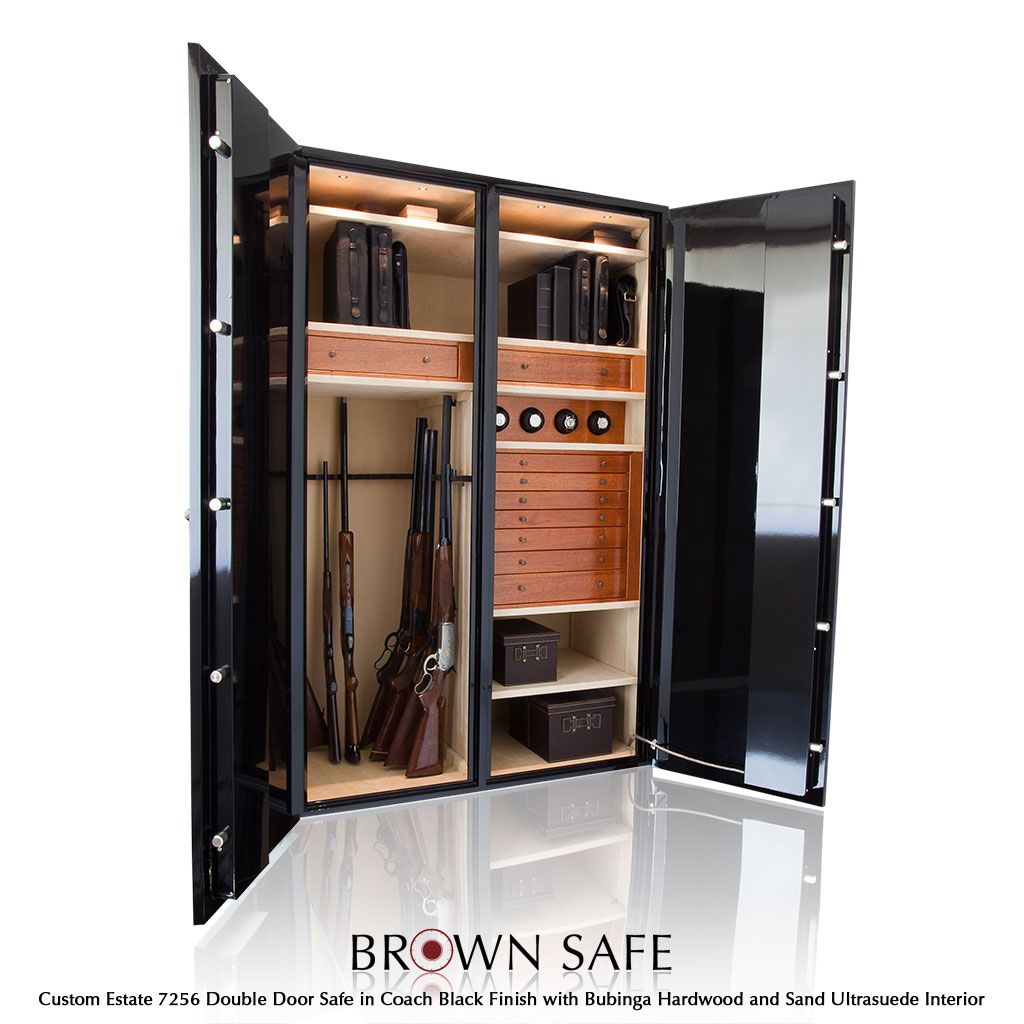 Custom closet gun safe google search fine gun room for Custom safe rooms