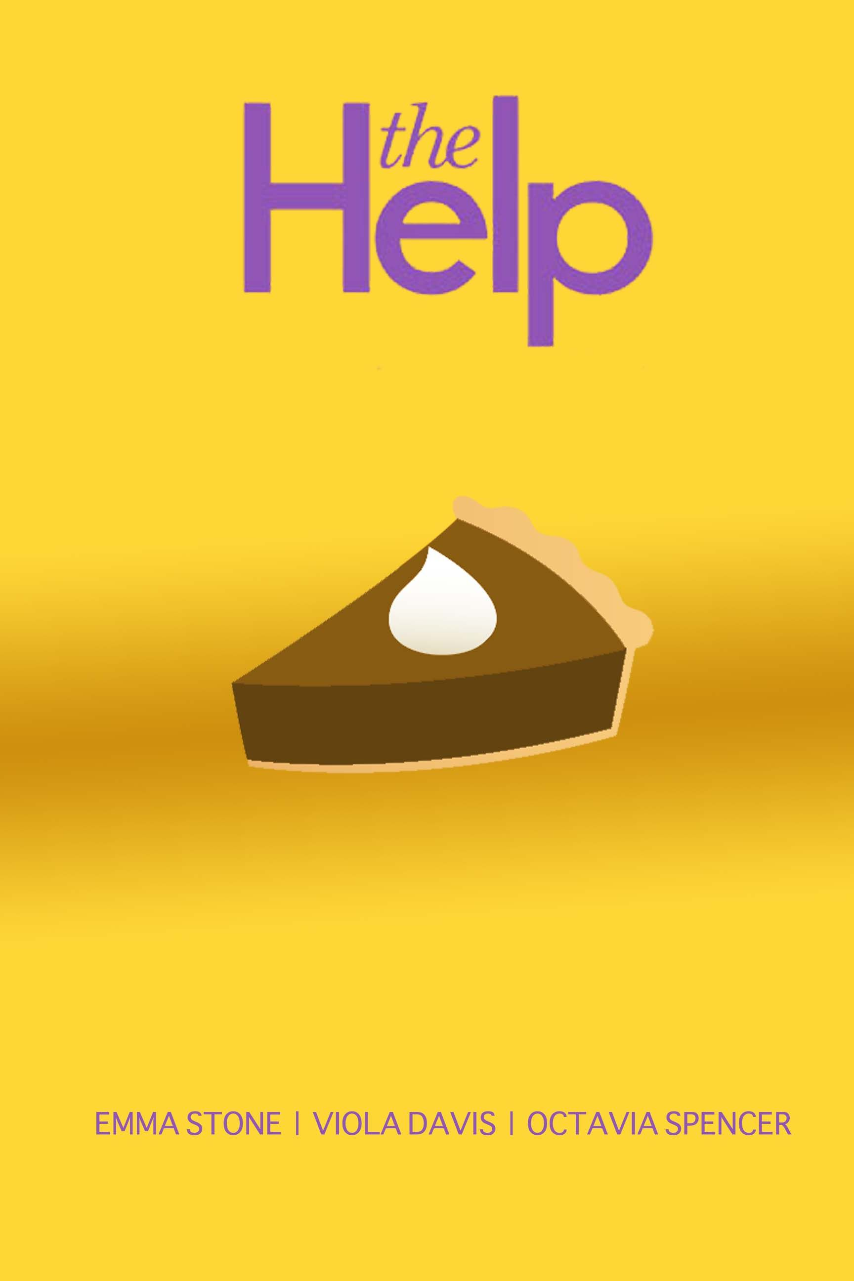 Poster design help - My Minimalist Poster For The Help The Pie Had To Be The Best Moment In