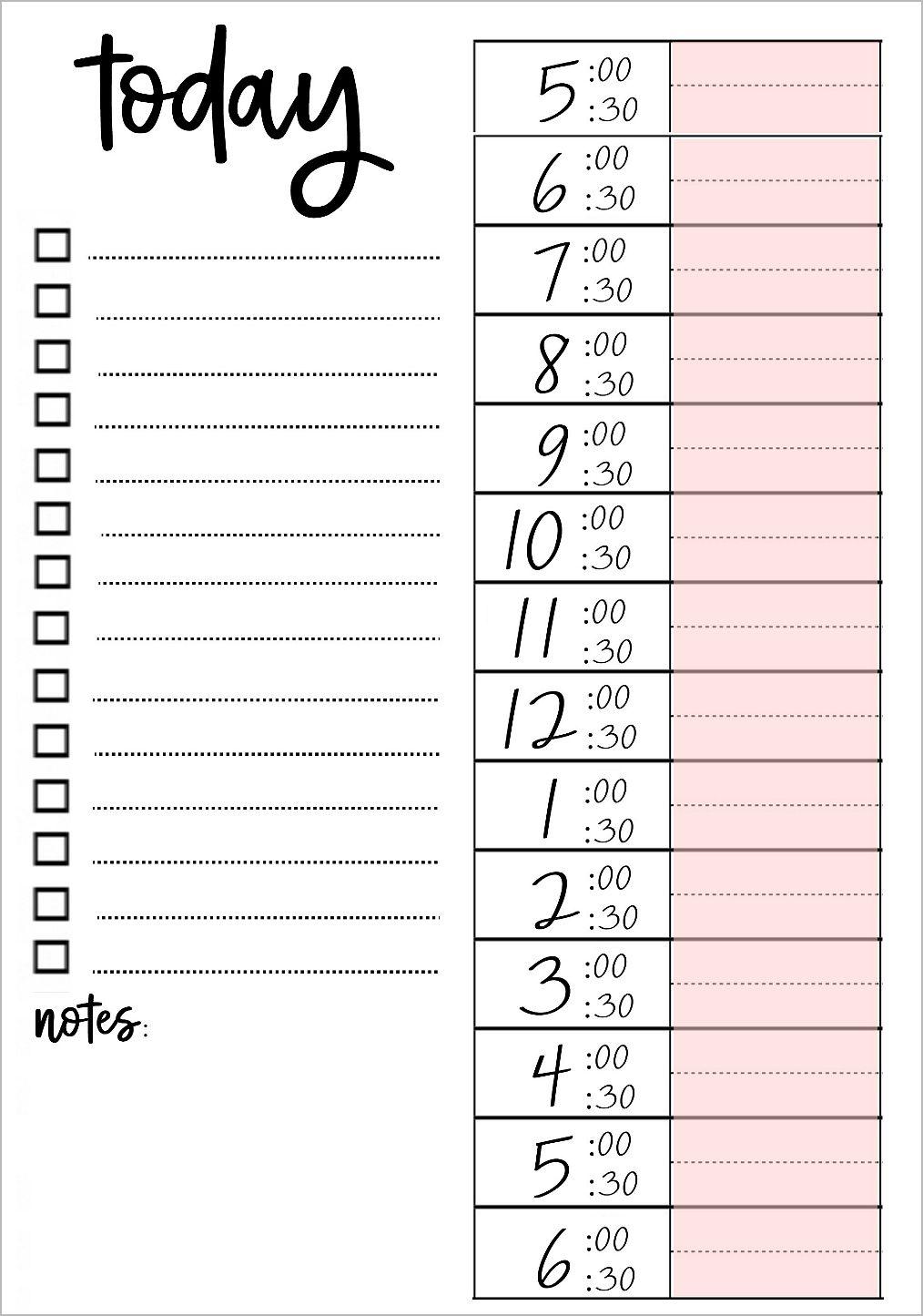 Printable To Do Lists That Work   To do lists printable, Weekly ...