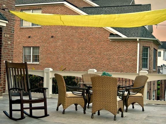 10 Foot Quadrilateral Sun Shade Sail Canopy With Hardware This Would