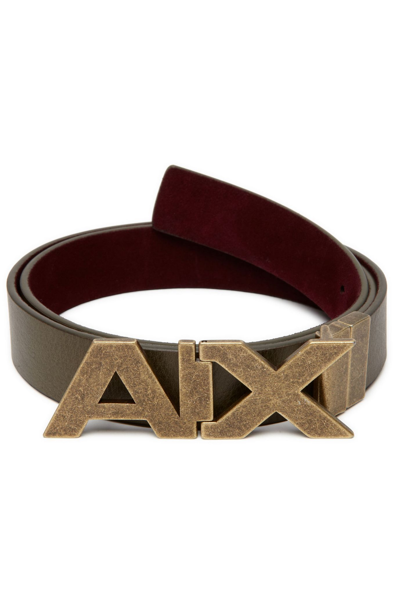 a173ad94 Bold Reversible Belt - Accessories - Mens - Armani Exchange ...
