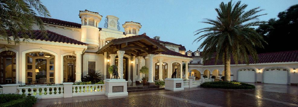 Beautiful luxury home dream house floor plans designs in american and european period styles traditional