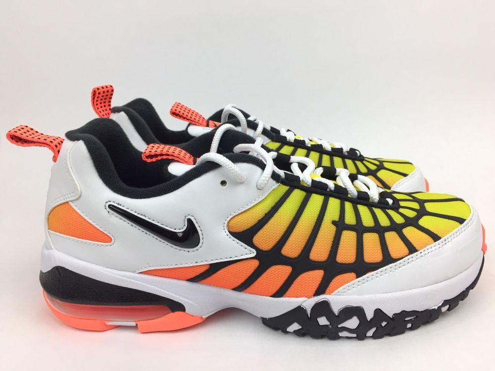 more photos c9905 7d532 Nike Air Max 120 OG Shoes Mens Yellow White Black Size 9.5 ...