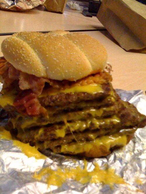 Baconator Burger Recipes, Copycat Recipes, I Want To Eat, Tasty, Yummy Food