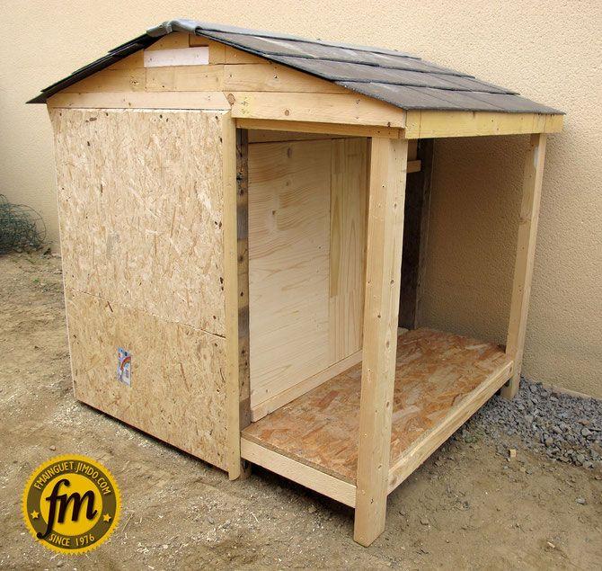 Fabrication niche pour chien bricolage pinterest fur - Niche pour chien en palette ...