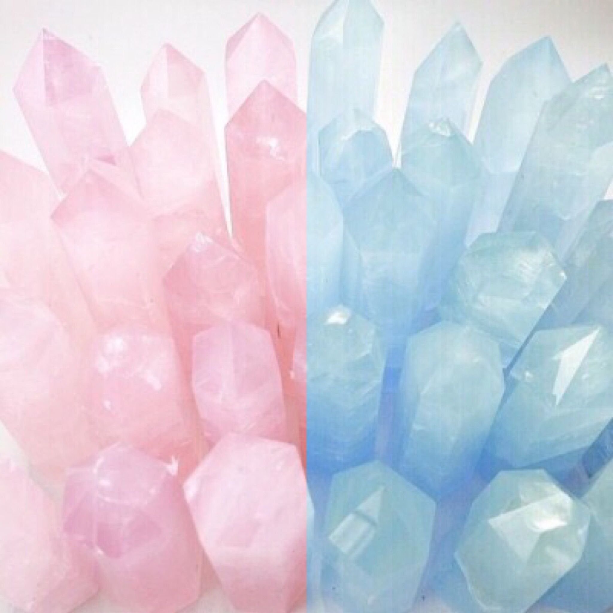 Pink blue aesthetic 2 Color bos Pinterest
