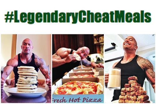 Dwayne Johnson S The Rock Cheat Meals Are Legendary