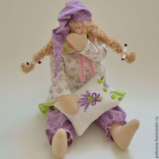Кукла тильда сонный ангел