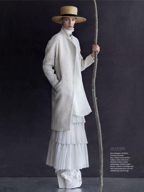 Franzi Mueller By Julia Hetta For Elle Sweden September 2013