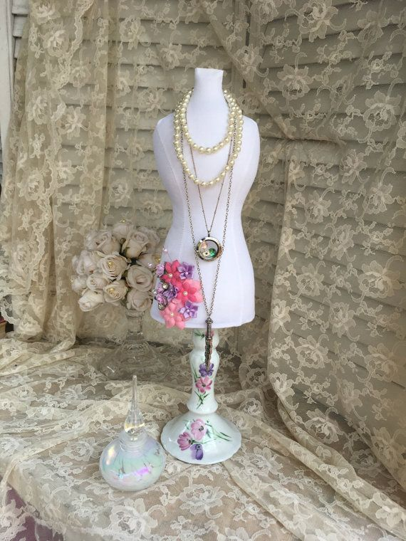 XL Jewelry Display Dress Form Mannequin Necklace Organizer
