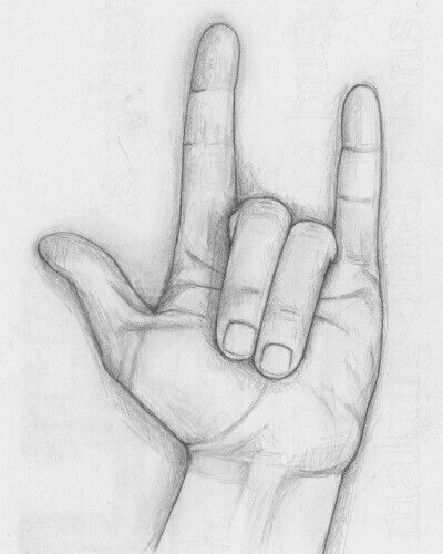 Love Symbol In Sign Language Tattoo I Love You Sign Language