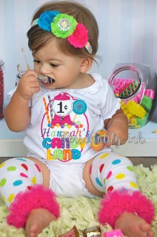 candy birthday shirt candyland 1st birthday theme girls 1st birthday outfit Girls candyland 1st birthday outfit candy 1st birthday shirt