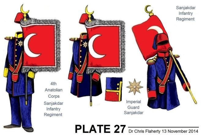 Ottoman Turkish Uniforms Insignia Uniform Crimea Crimean