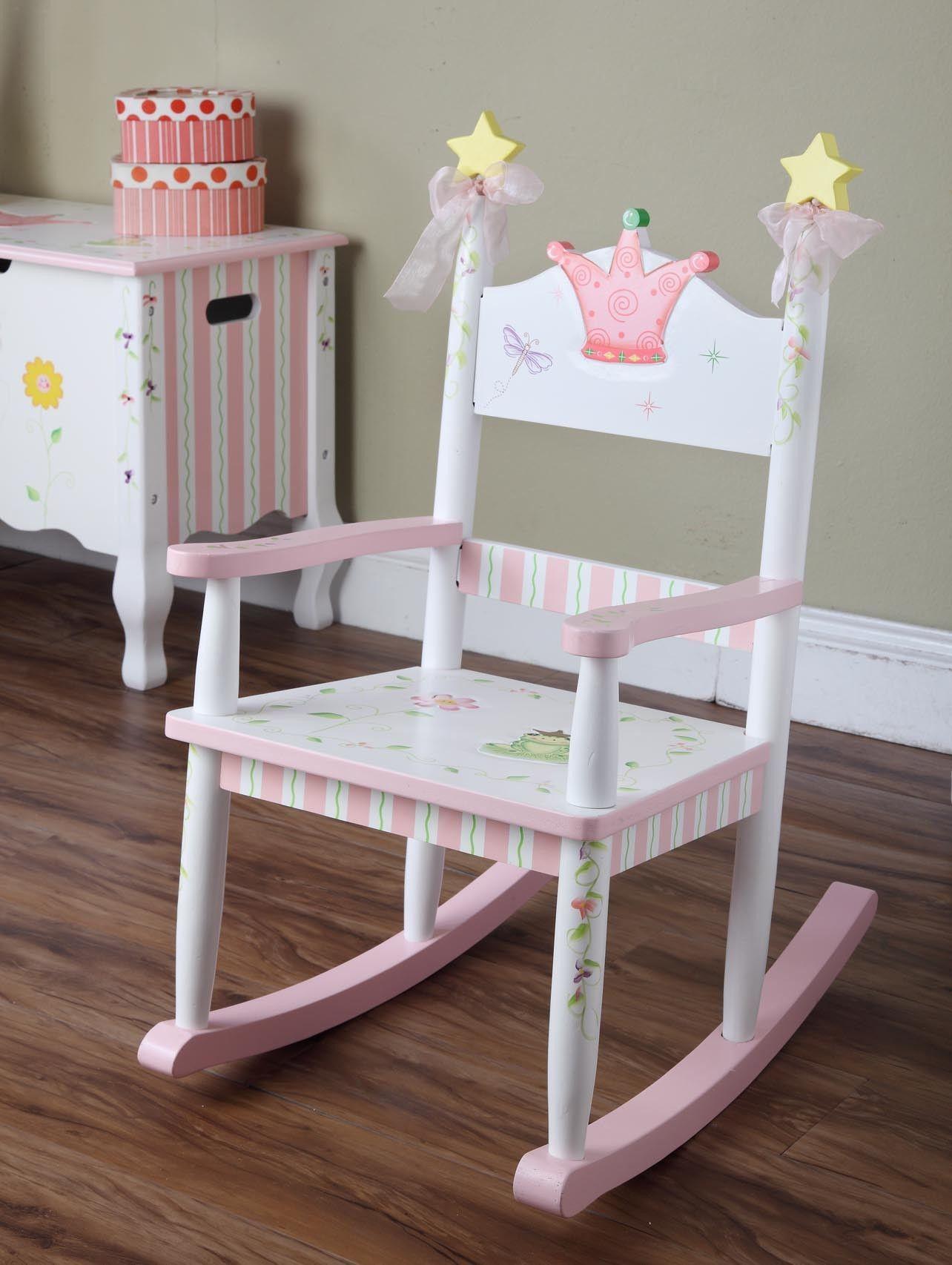 Kids Rocking Chair … Kids rocking chair, Girls rocking