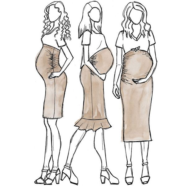 Erin maternity skirt sewing pattern | costura | Costura, Patrones y ...