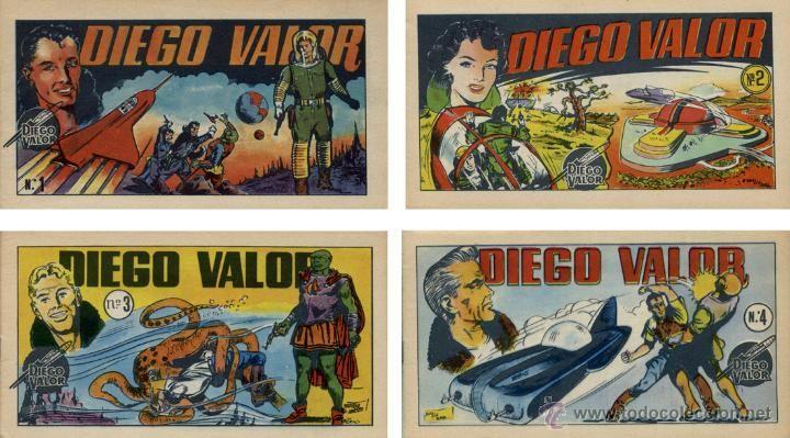 Lote de 4 ejemplares Diego Valor - Foto 1