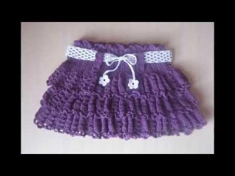 8c91b35f60 Como hacer pantuflas a crochet para niñas de 3 a 4 años - YouTube ...