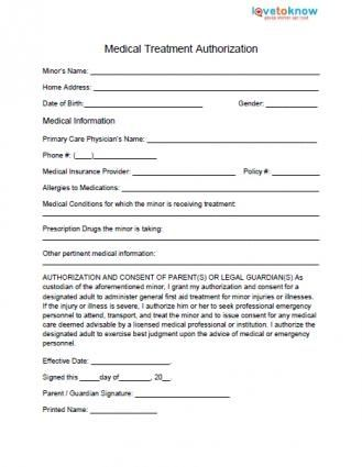 free medical forms templates sample medical authorization letters
