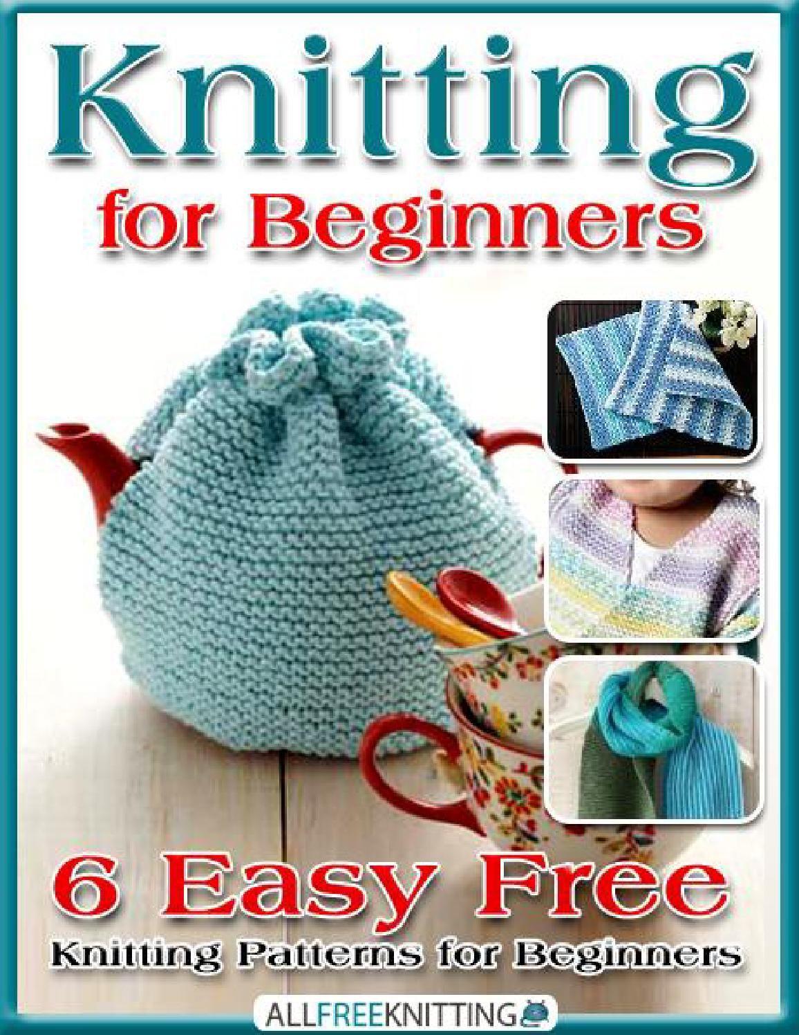 Knitting for beginners 6 easy free knitting patterns for beginners knitting for beginners 6 easy free knitting patterns for beginners bankloansurffo Images