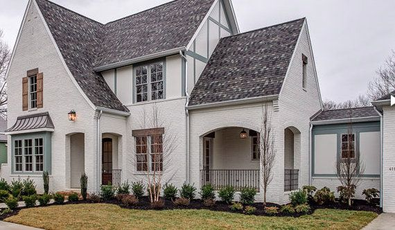 The Perfect Paint Schemes For House Exterior Exterior Designs Pinterest Tudor House
