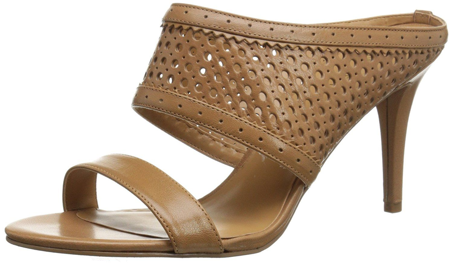 Nine West Women's Incident Leather Heeled Sandal * Tried it! Love it! Click the image. : Wedge sandals