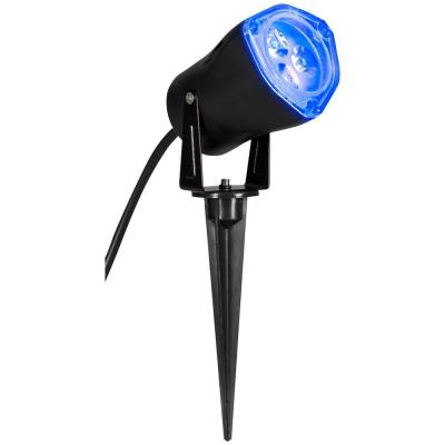 15 home accents holiday 3 5 in light blue led outdoor spotlight
