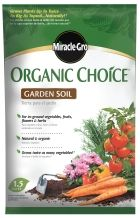 Ordinaire Miracle Grow Organic Choice Garden Soil.