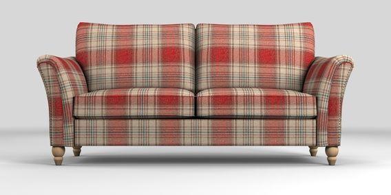 Buy Lanston Medium Sofa (3 Seats) Versatile Check Stirling