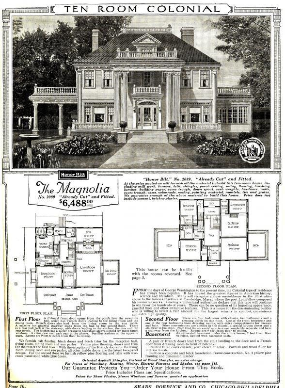 The Magnolia Was The Cr 232 Me De La Cr 232 Me Of All Kit Homes