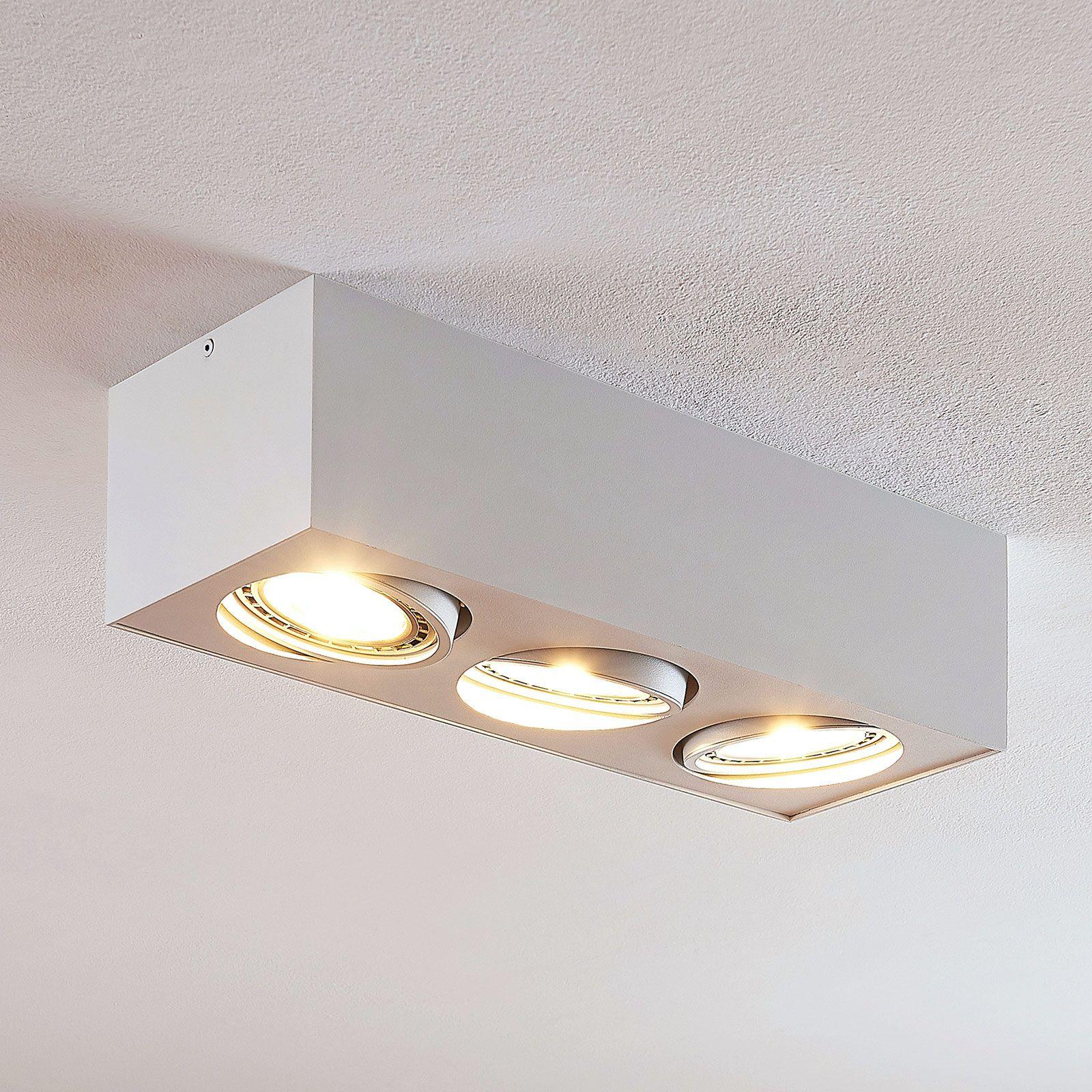 Arcchio Dwight Led Ceiling Lamp White 3 Bulb Led Deckenlampen Deckenlampe Led Deckenstrahler