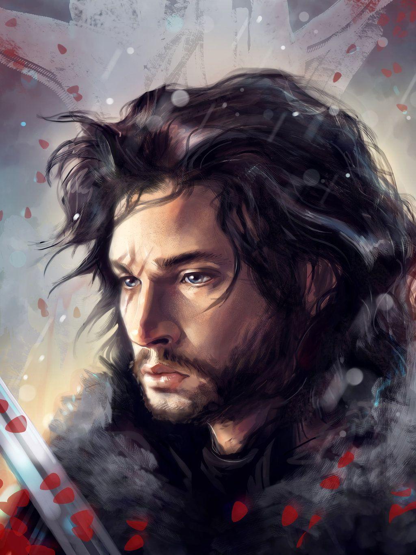 Jon Snow by PolliPo.deviantart.com on @DeviantArt