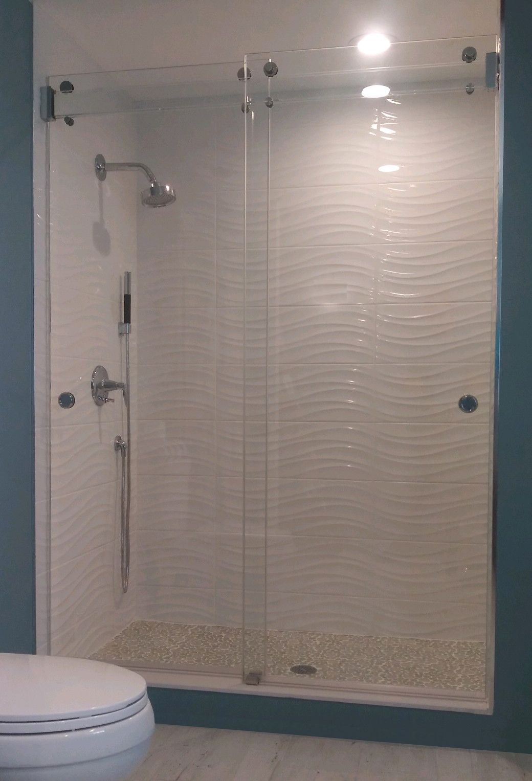 The Original Frameless Shower Doors Featuring The Clearslide The