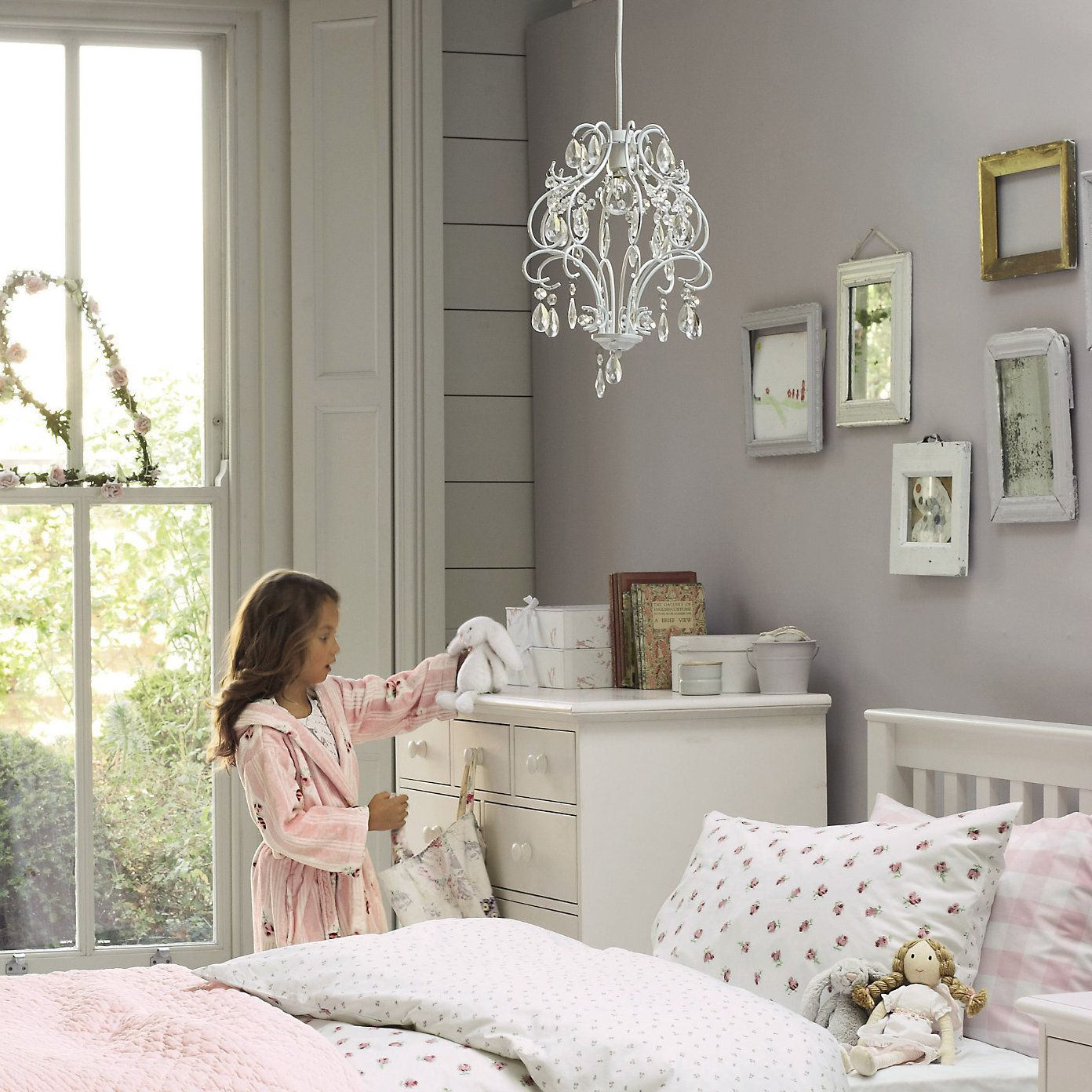 The Little White Company Chandelier Shade From