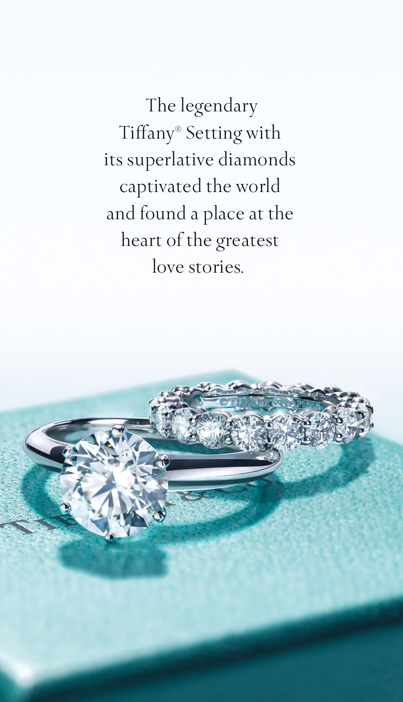 The Tiffany Setting Engagement Ring In Platinum Tiffany Co