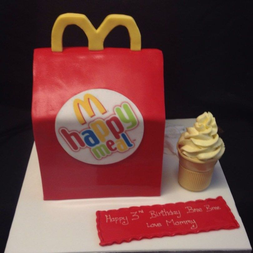 Magnificent 25 Best Picture Of Mcdonalds Birthday Cake With Images Birthday Cards Printable Nowaargucafe Filternl