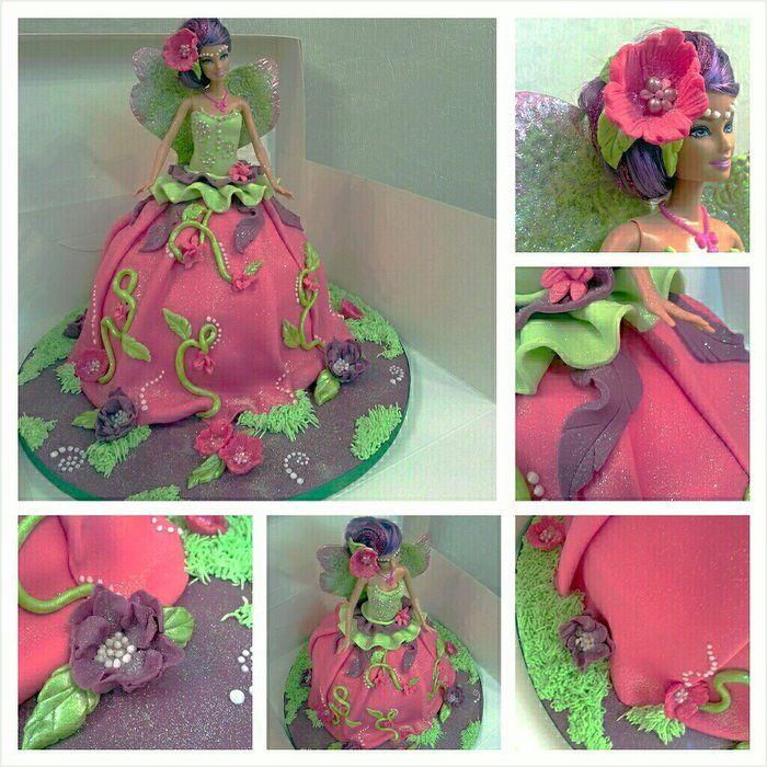 Barbie cake by Kaykes