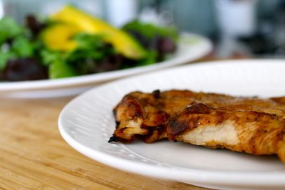 The Fit Cook: Broiled BBQ Chicken
