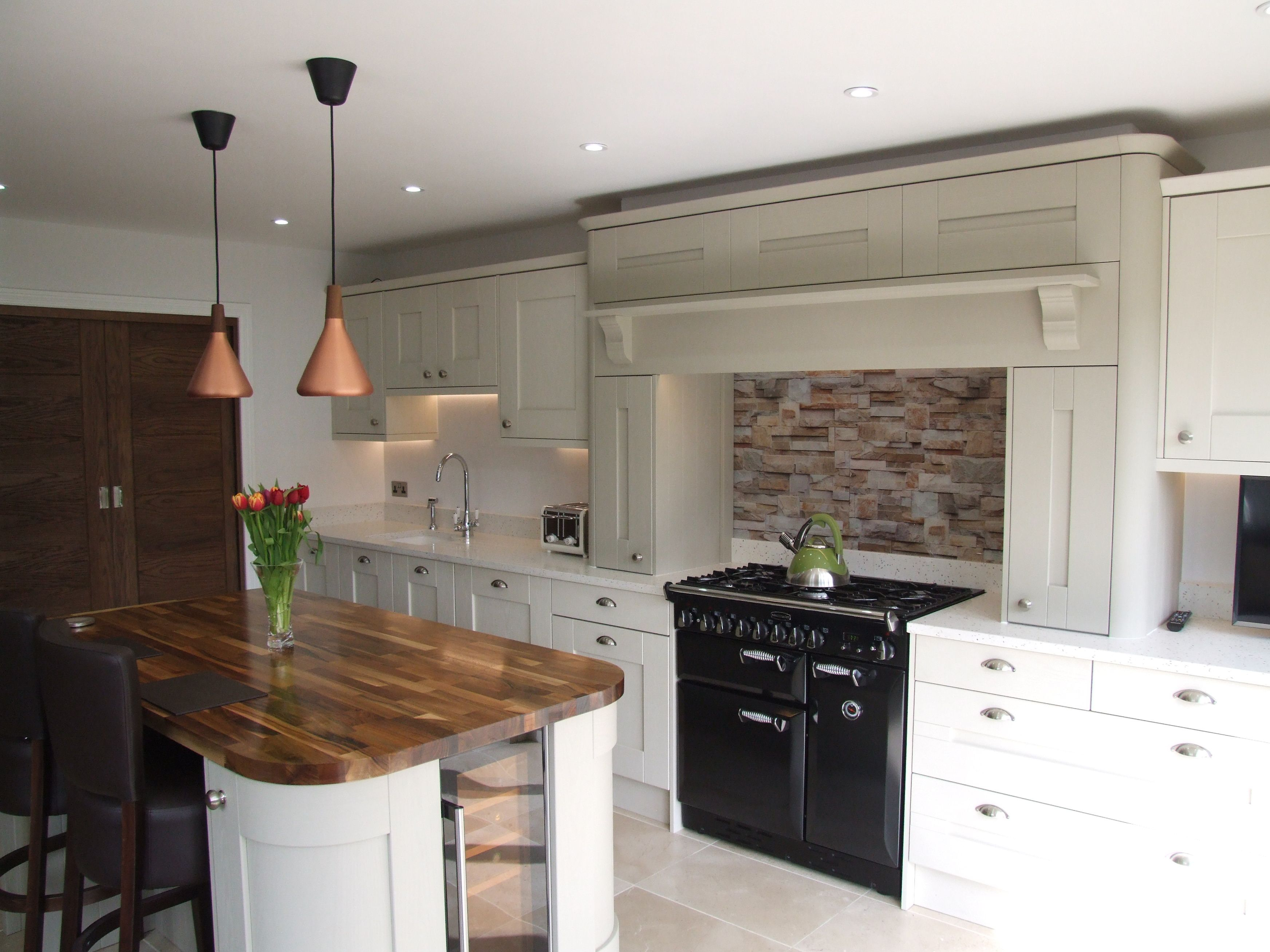 chimney breast with range cooker | KITCHEN...DINER. | Pinterest
