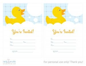 This free rubber duckie invitation template is just what you was this free rubber duckie invitation template is just what you was looking for your childs themed filmwisefo Image collections