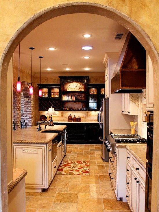 Dallas Mediterranean Kitchen Design, Pictures, Remodel ...