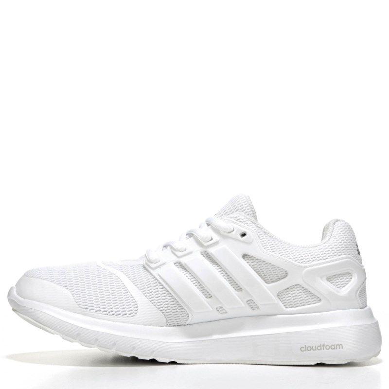 adidas donne 'nuvola di energia / scarpe da corsa (bianco