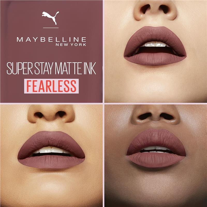 Buy Maybelline Puma Superstay Matte Ink 11 Fearless Limited